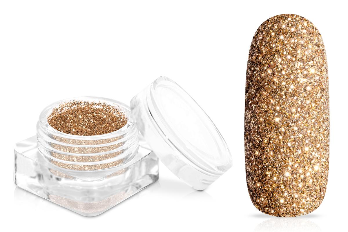 Jolifin Glitterpuder - elegance gold