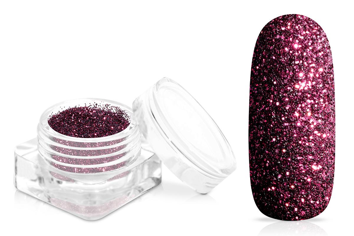 Jolifin Glitterpuder - elegance berry