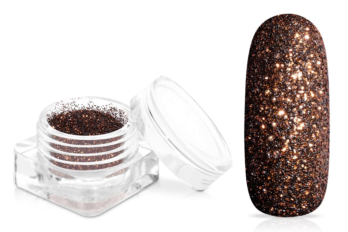 Jolifin Glitterpuder - deep brown