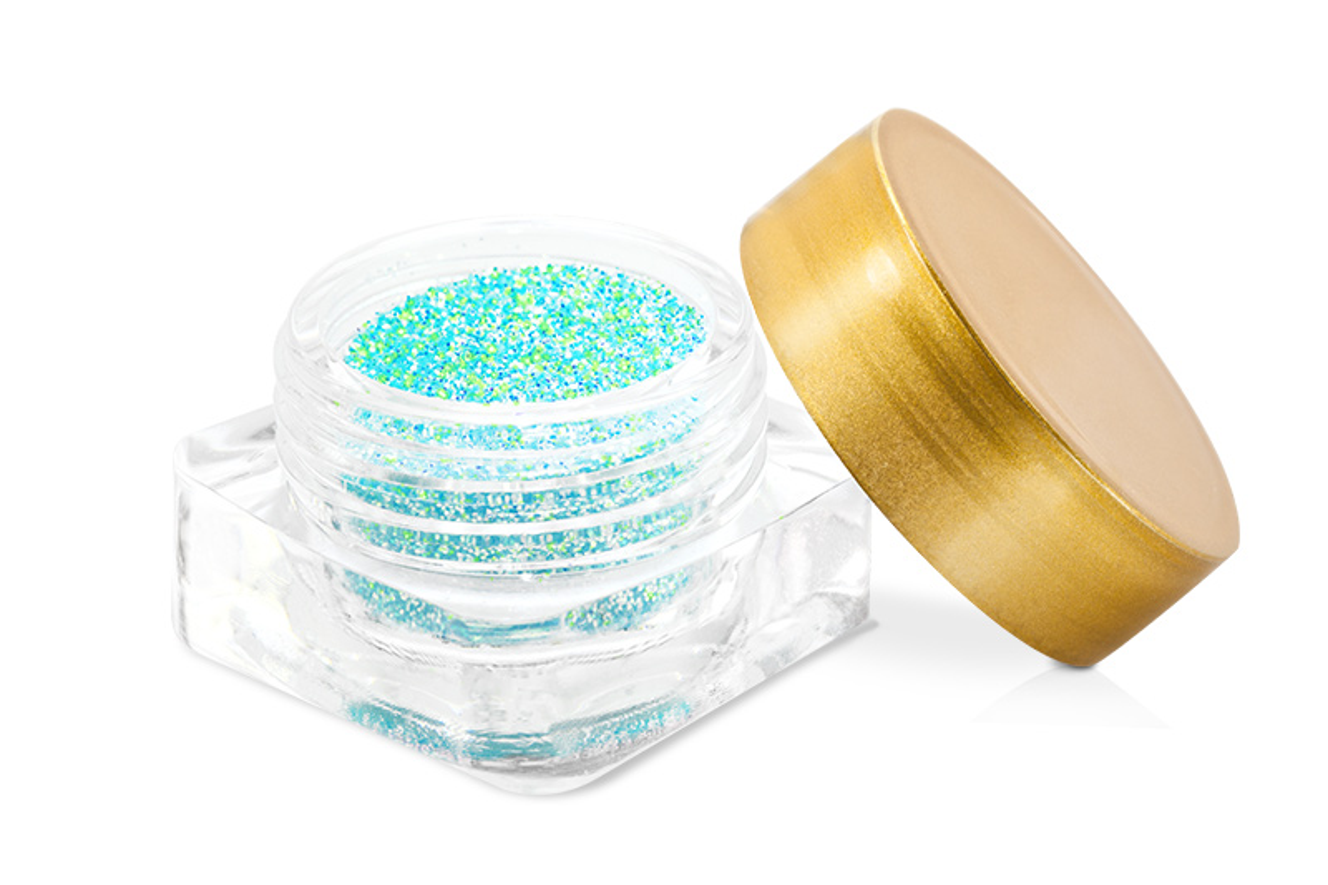 Neon Revolution glitter-türkis
