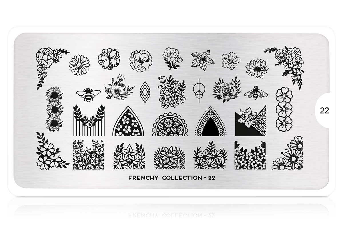 MoYou-London Schablone Frenchy Collection 22
