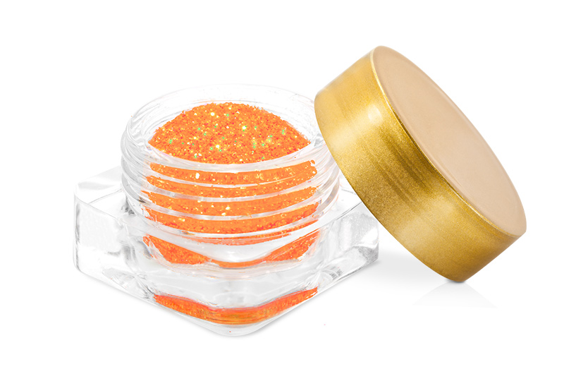 Neon Revolution glitter-orange