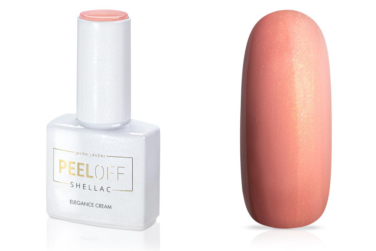 Jolifin LAVENI Shellac PeelOff - elegance cream 12ml