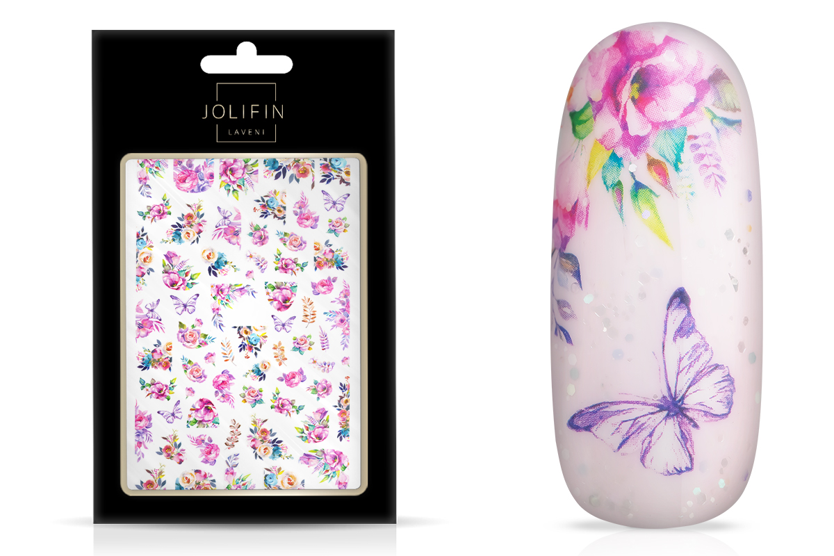 Jolifin LAVENI XL Sticker - Flowers Nr. 8