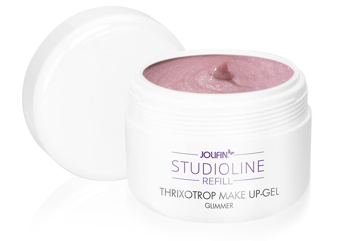 Jolifin Studioline Refill - Thixotrop Make-Up Gel Glimmer 250ml