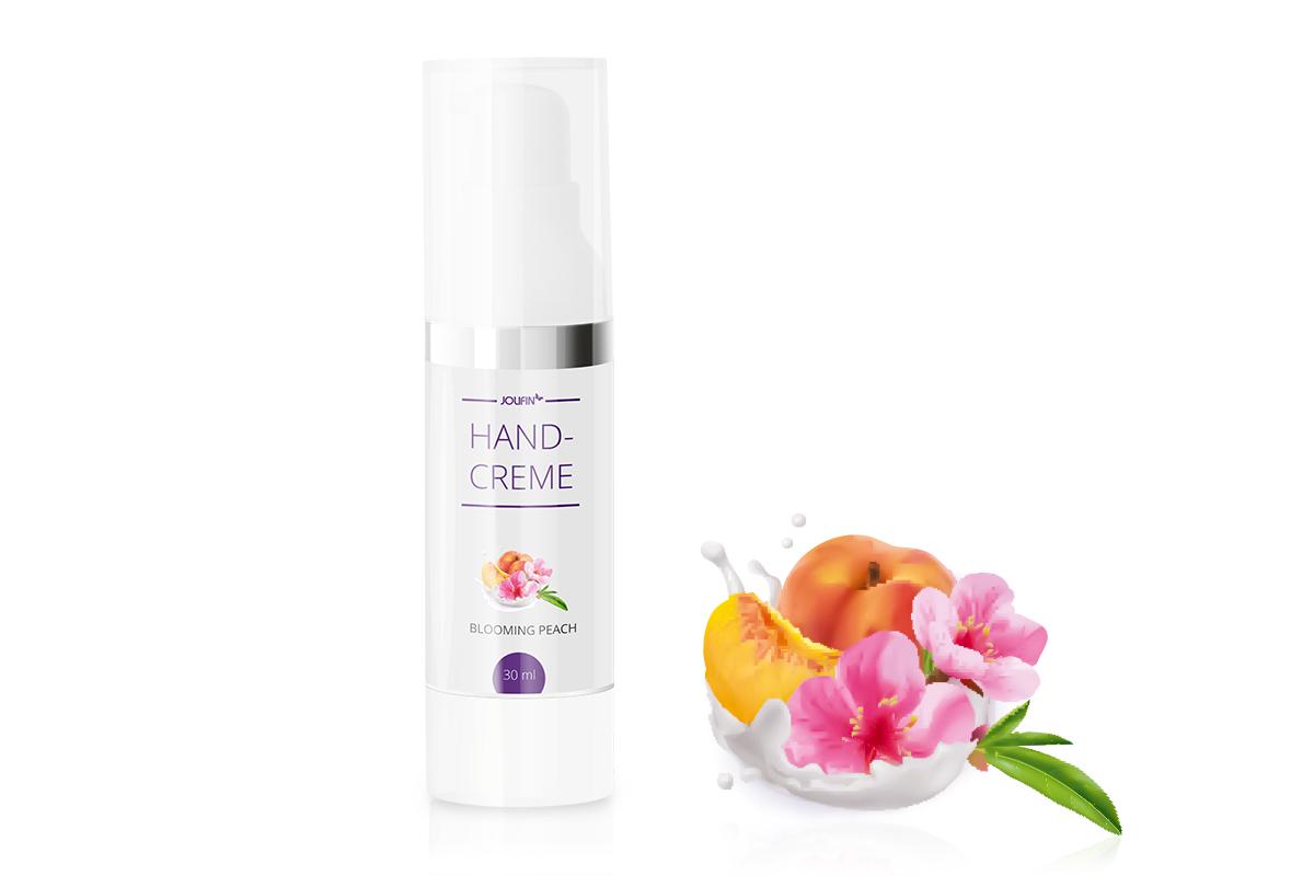 Jolifin Handcreme - blooming peach 30ml