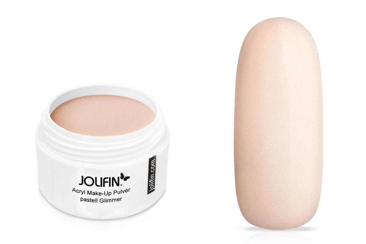 Jolifin Acryl Make-Up Pulver - pastell Glimmer 10g