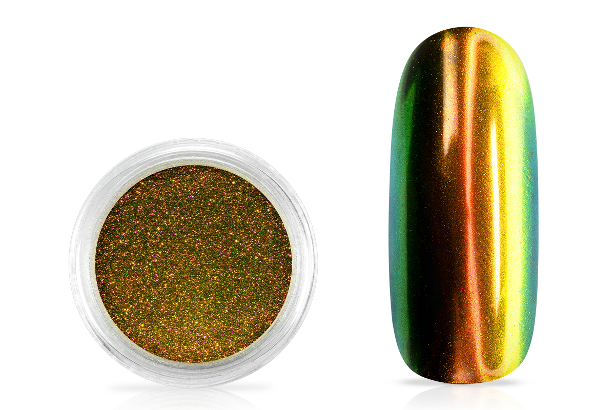 Jolifin Super Mirror-Chrome Pigment - FlipFlop copper & gold