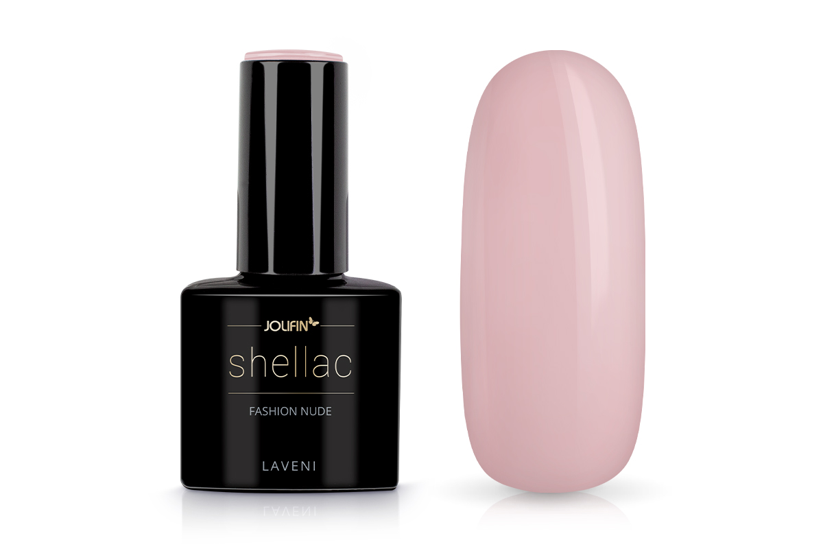 Jolifin LAVENI Shellac - fashion nude 12ml