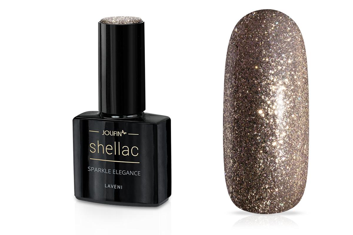Jolifin LAVENI Shellac - sparkle elegance 12ml