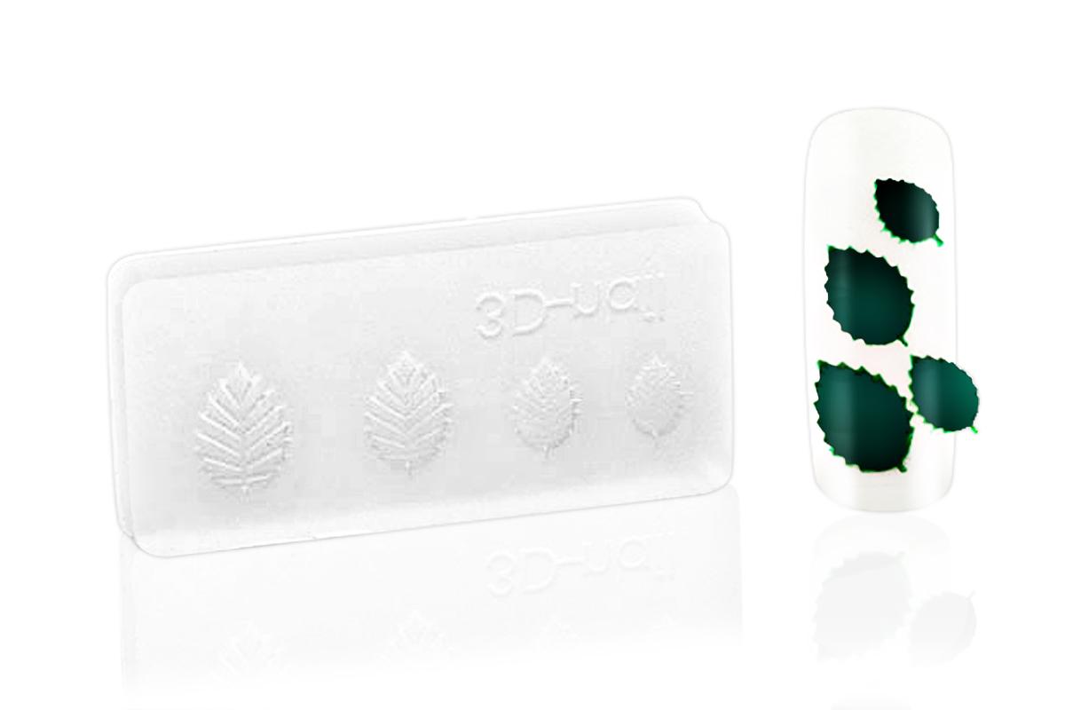 3D-Form rose leaves