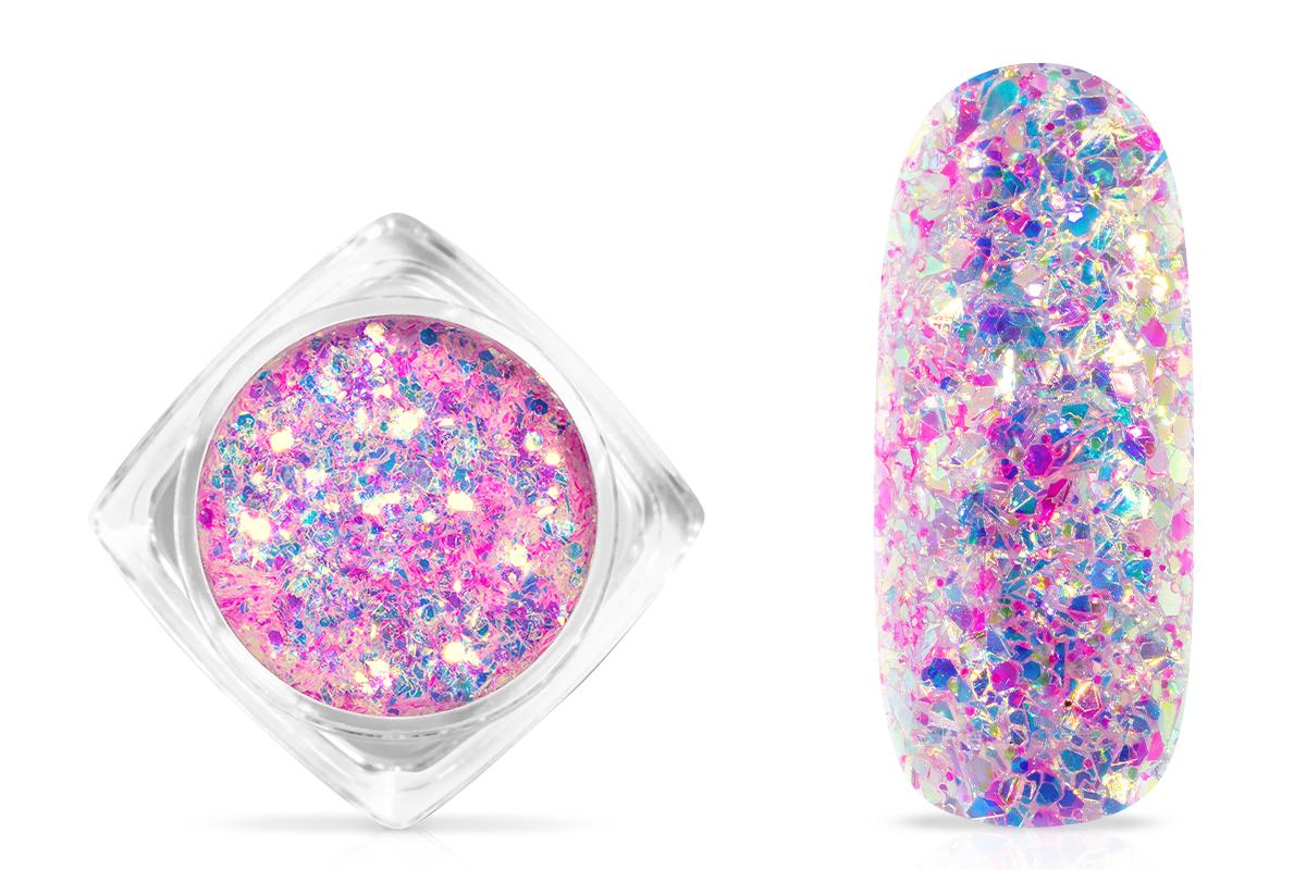 Jolifin Aurora Flakes Glittermix - pink