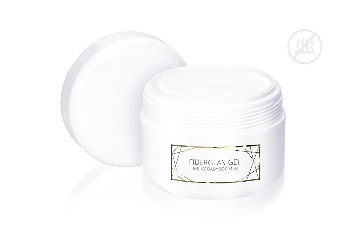 Jolifin LAVENI PRO - Fiberglas-Gel milky babyboomer 250ml