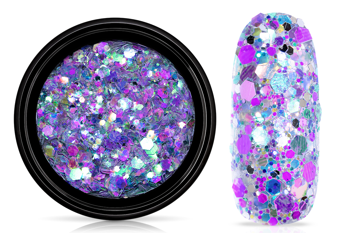 Jolifin LAVENI Festival Glitter - purple mermaid