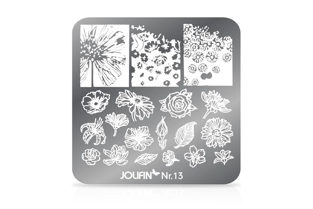 Jolifin Stamping-Schablone Nr. 13