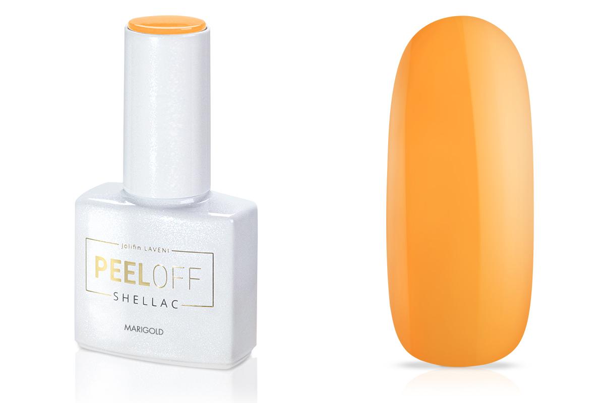 Jolifin LAVENI Shellac PeelOff - marigold 12ml