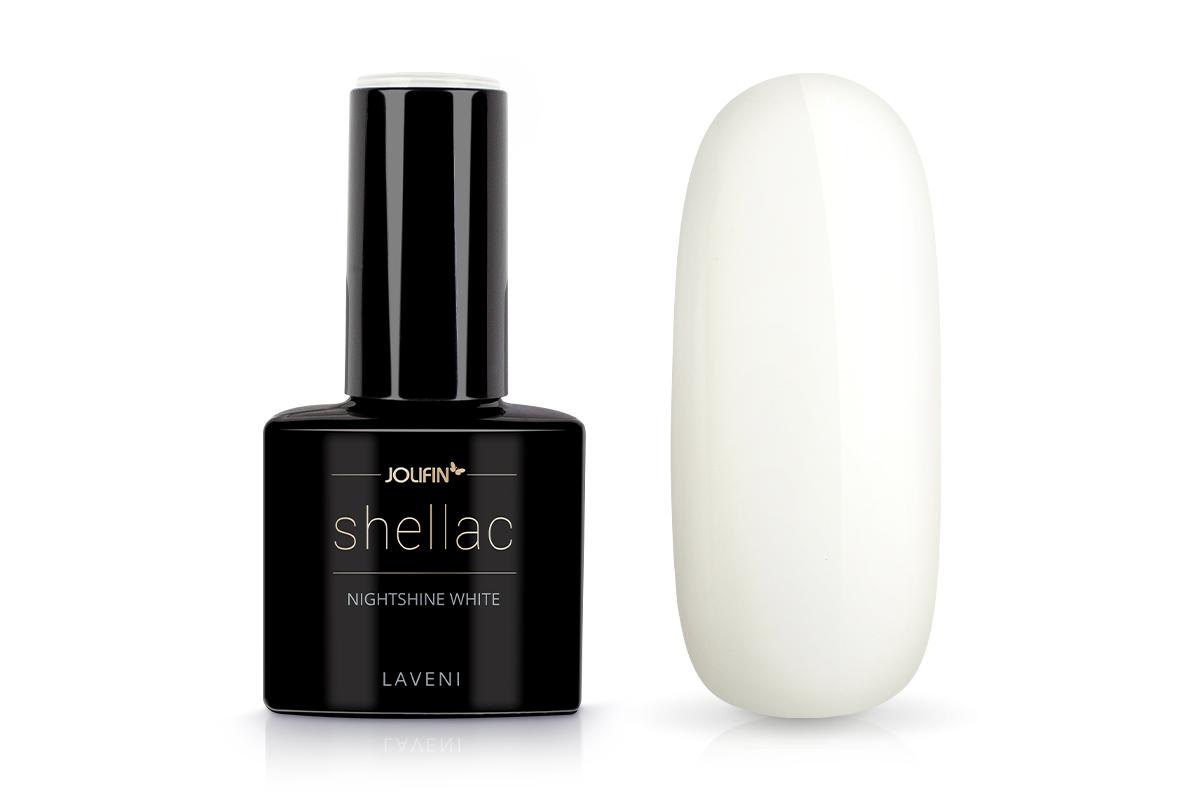 Jolifin LAVENI Shellac - nightshine white 12ml