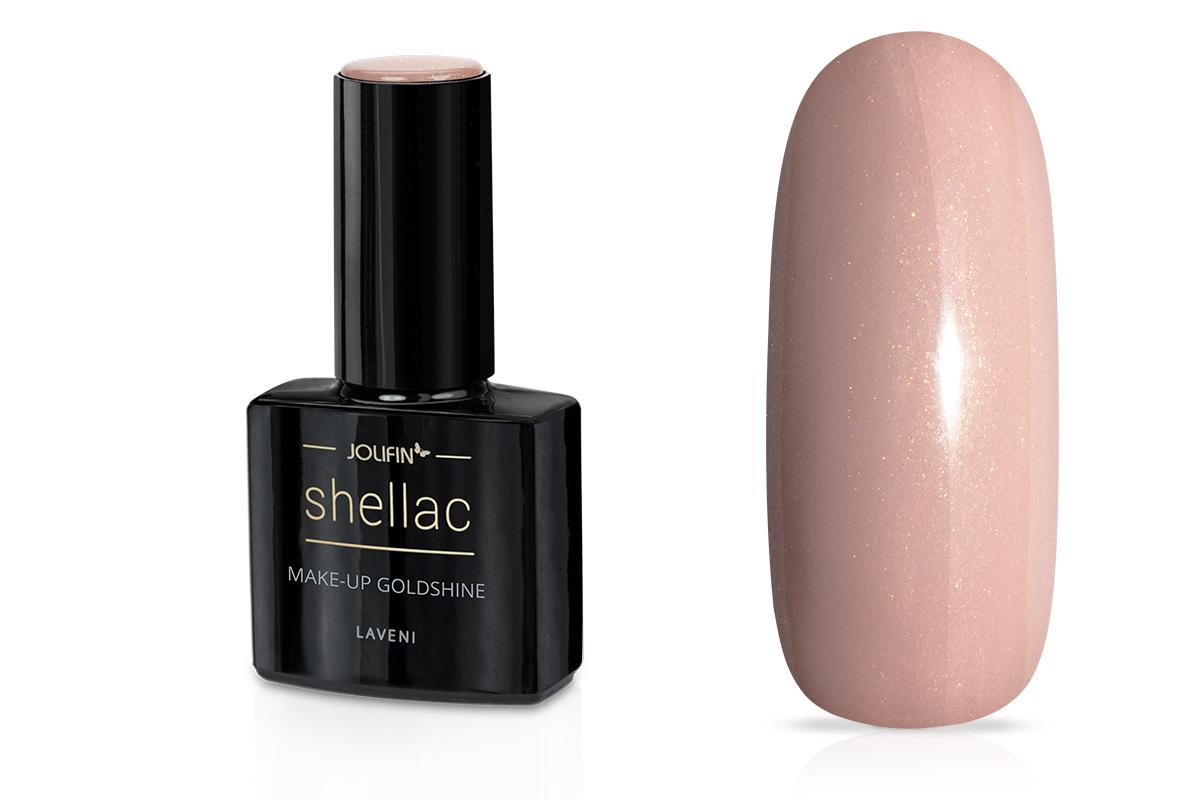Jolifin LAVENI Shellac - make-up goldshine 12ml