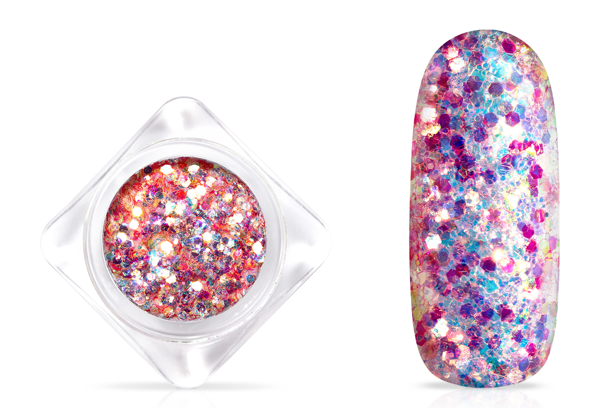 Jolifin Fabulous Glitter - raspberry