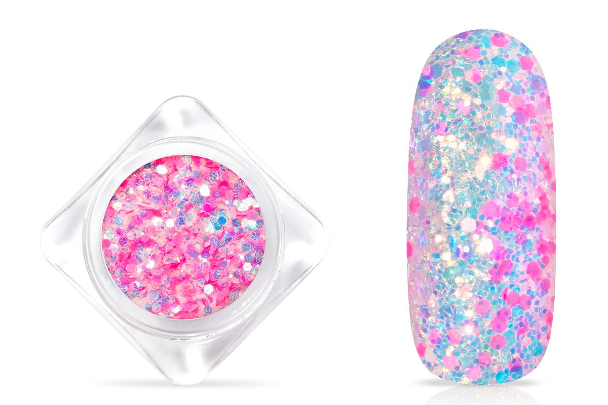 Jolifin Neon Mermaid Glitter - pink