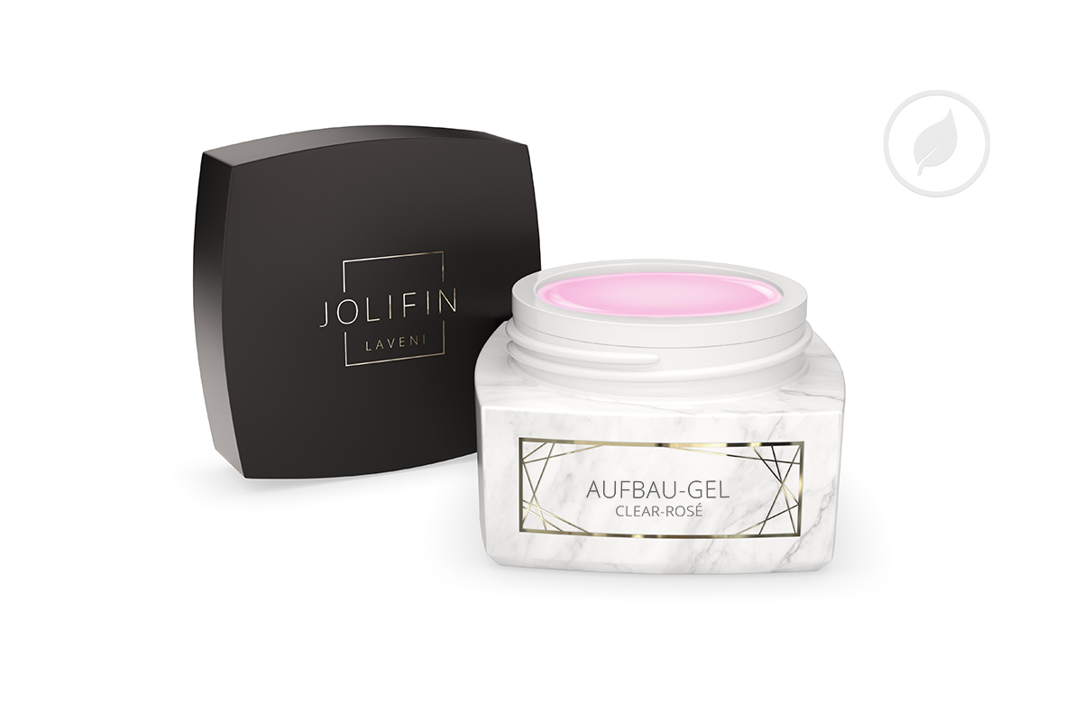 Jolifin LAVENI PRO - Aufbau-Gel clear rosé 5ml
