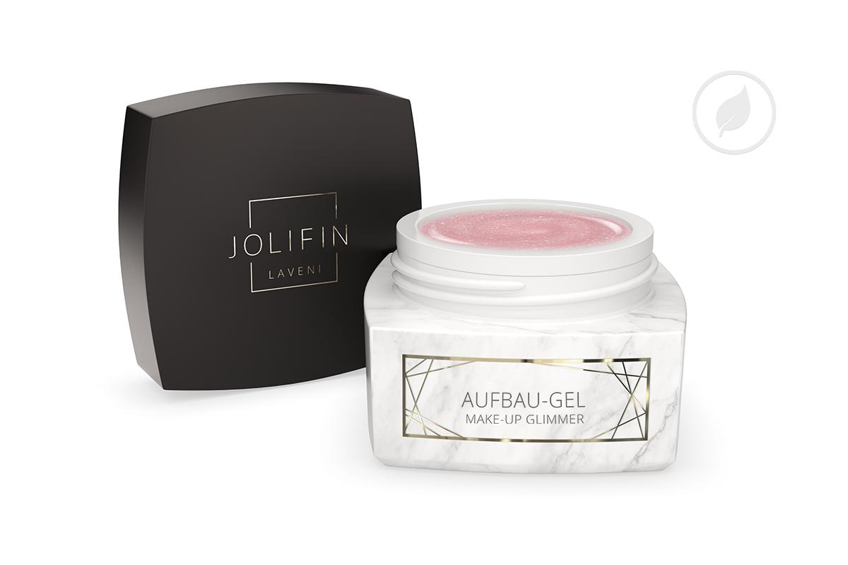 Jolifin LAVENI PRO - Aufbau-Gel make-up Glimmer 15ml