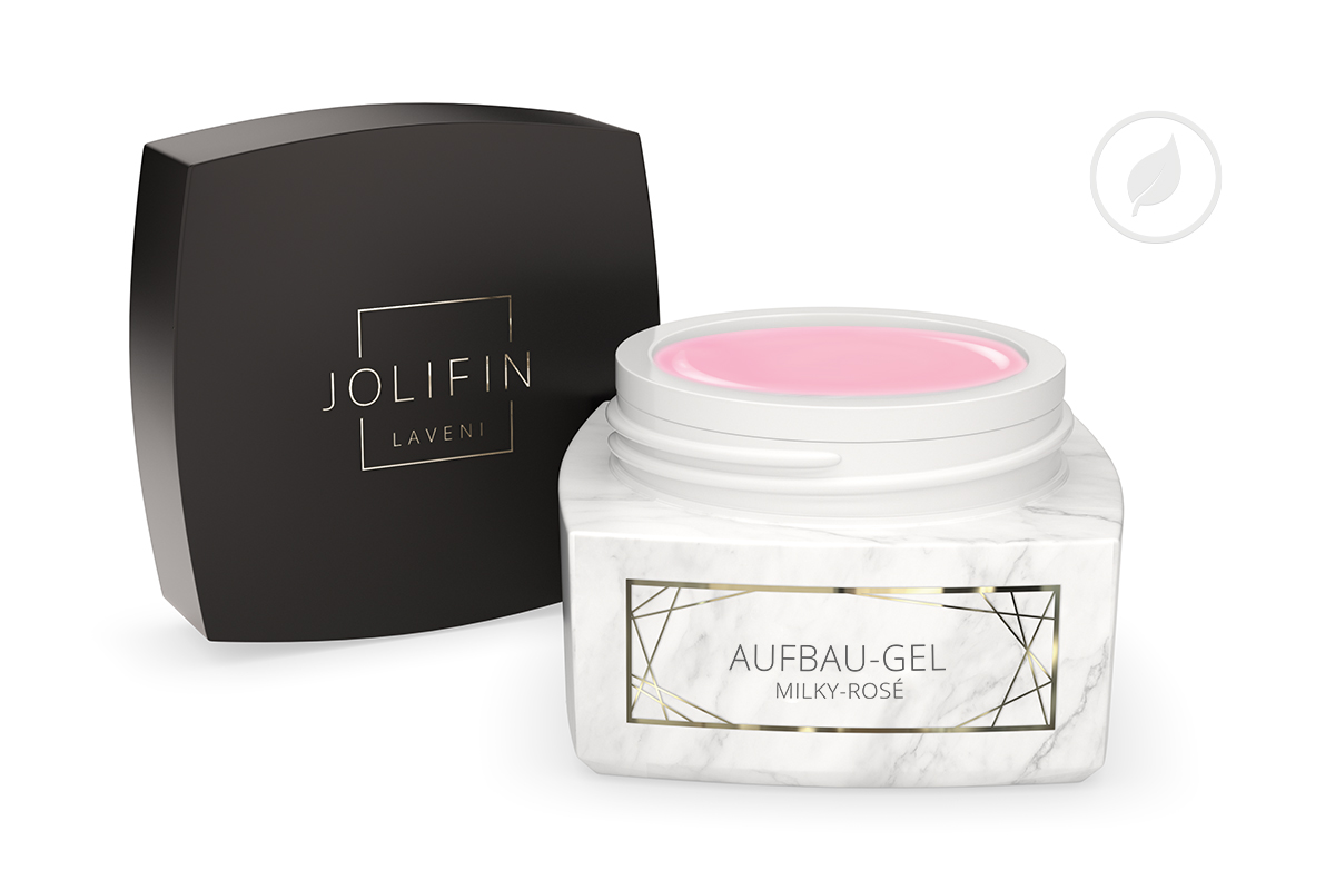 Jolifin LAVENI PRO - Aufbau-Gel milky rosé 30ml