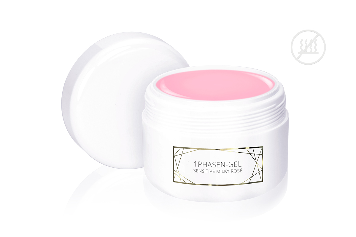 Jolifin LAVENI PRO Refill - 1Phasen-Gel sensitive milky rosé 250ml