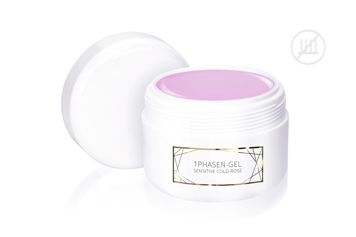 Jolifin LAVENI PRO Refill - 1Phasen-Gel sensitive cold-rosé 250ml
