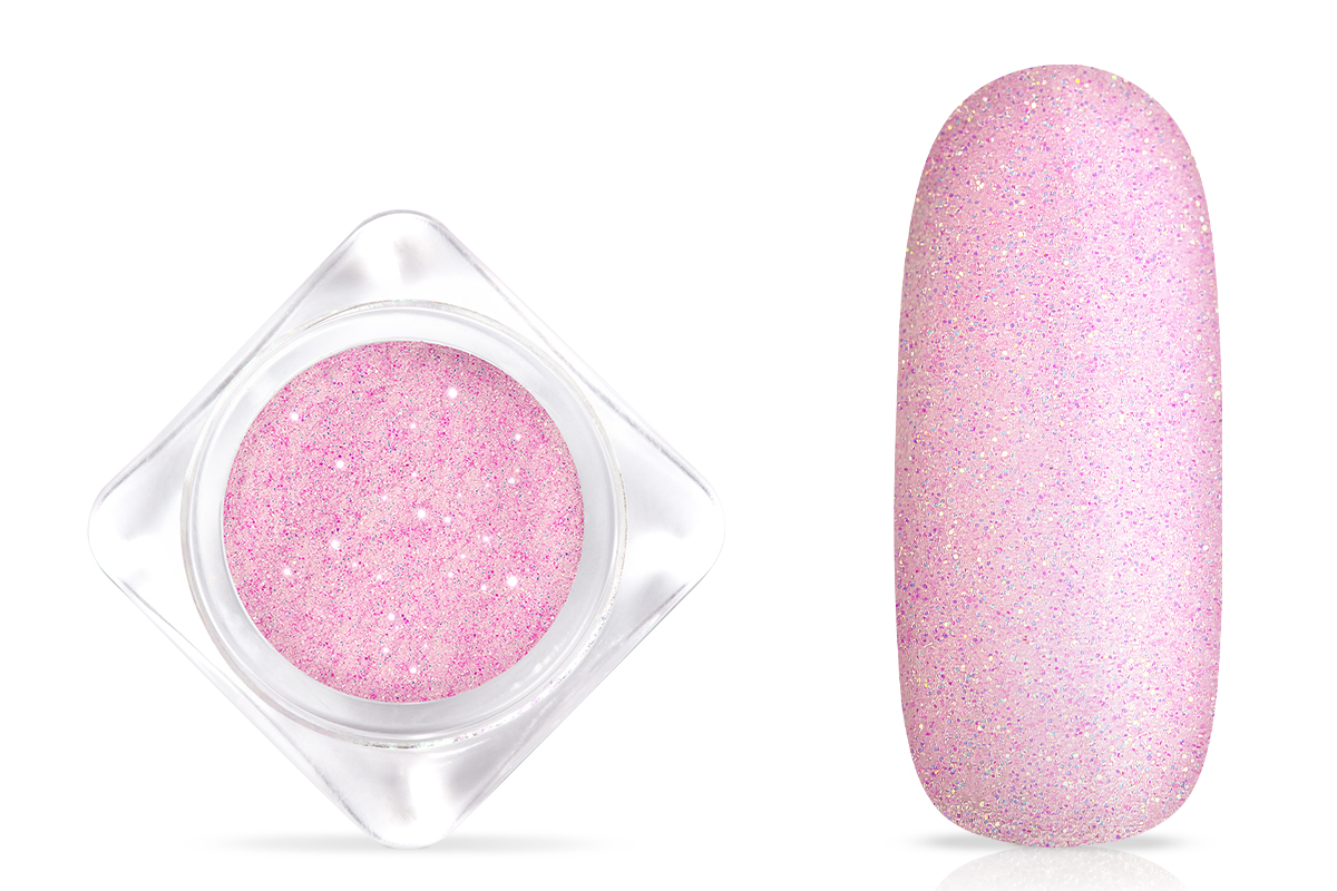 Jolifin Glitterpuder - pastell-rose