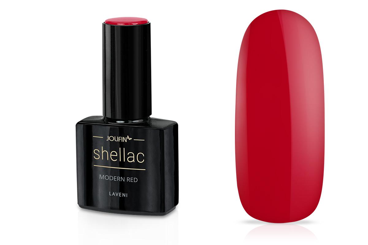 Jolifin LAVENI Shellac - modern red 12ml