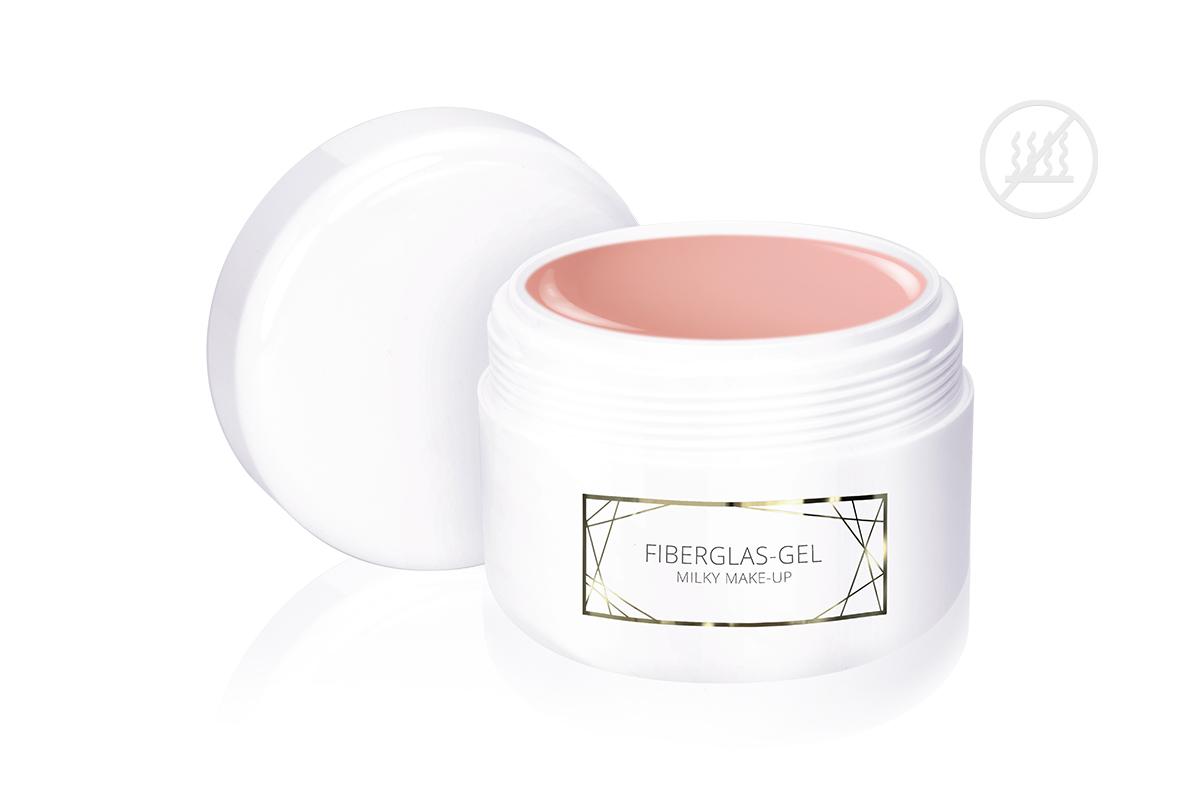 Jolifin LAVENI PRO - Fiberglas-Gel milky make-up 250ml