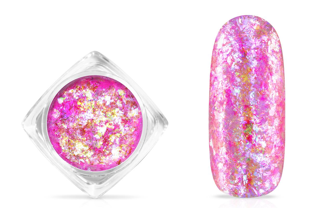 Jolifin Soft Opal Flakes - pastell neon-magenta