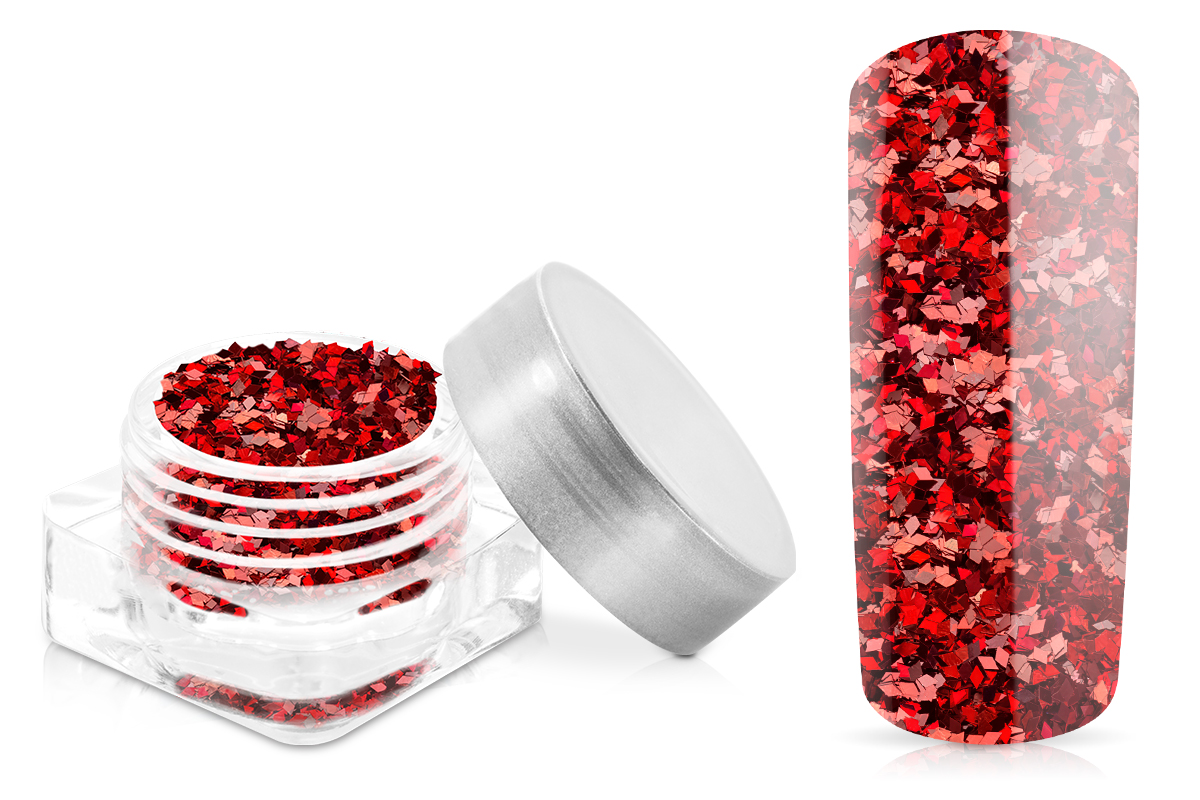 Jolifin Diamond Glitter rot