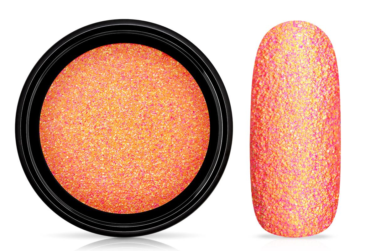 Jolifin LAVENI Matt Sugar Glitter - pink mandarin