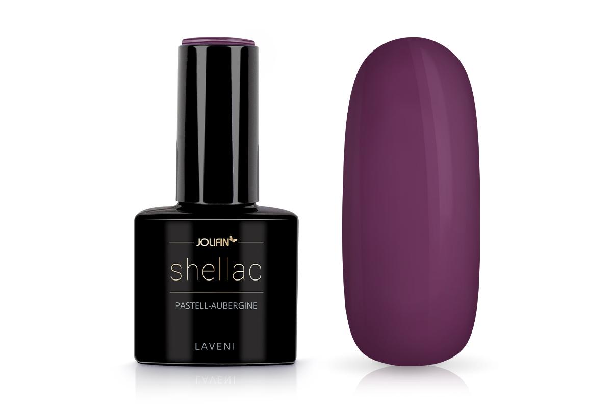 Jolifin LAVENI Shellac - pastell-aubergine 12ml
