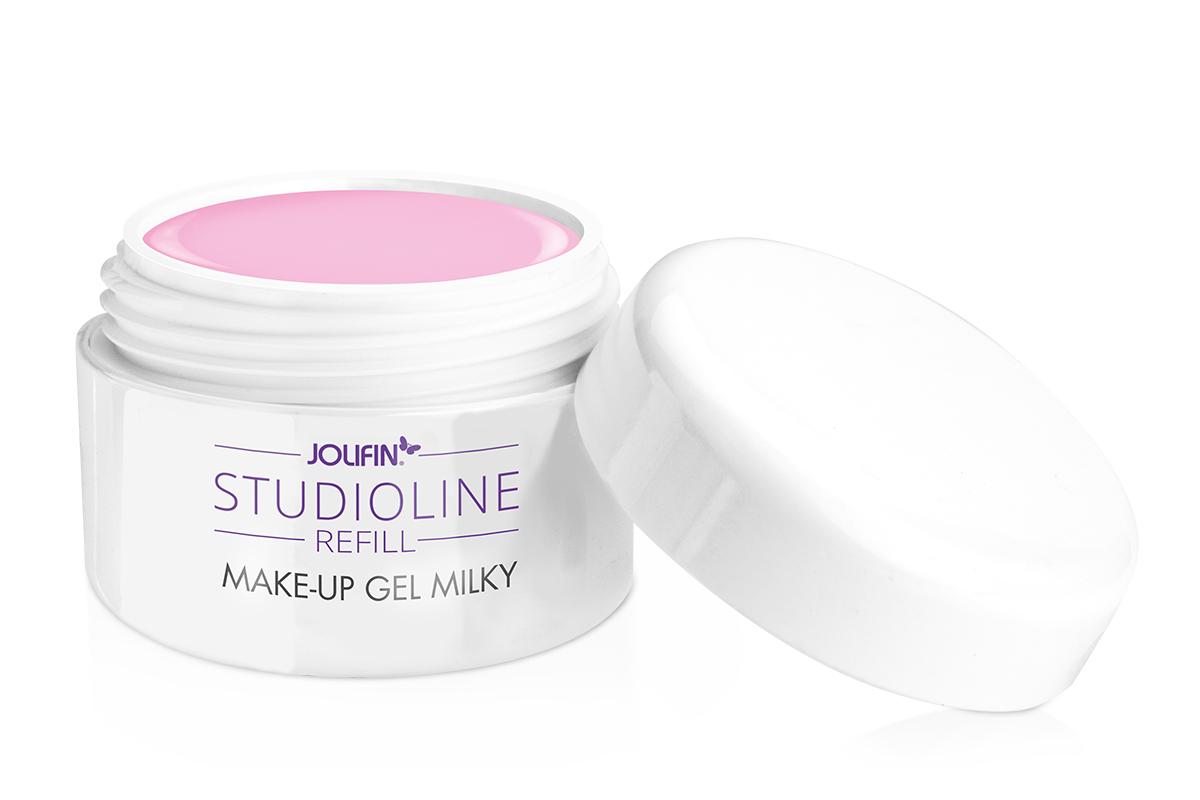 Jolifin Studioline Make-Up Cover Gel milky Refill 5ml