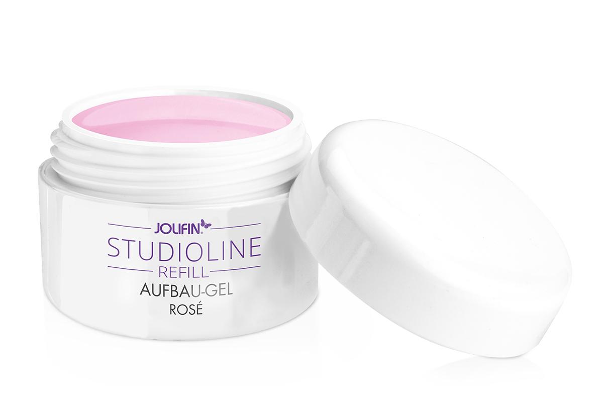 Jolifin Studioline Aufbau-Gel rosé 5ml - Refill