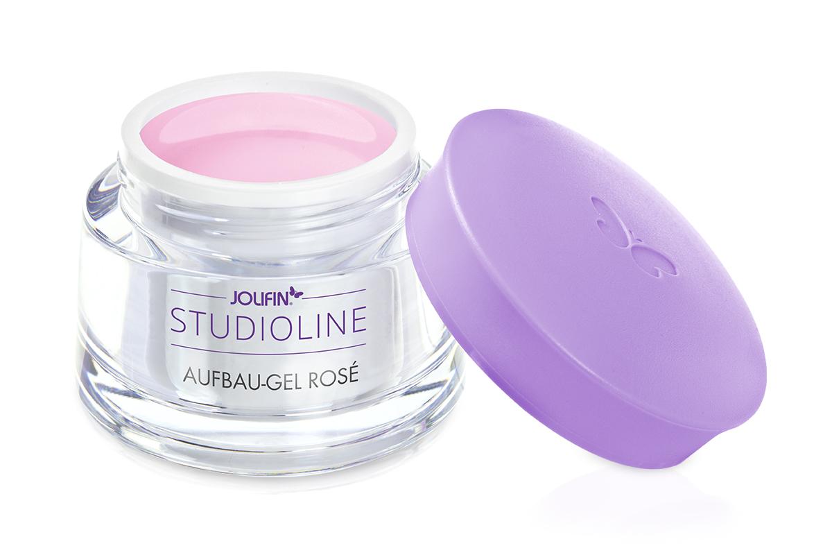 Jolifin Studioline - Aufbau-Gel rosé 5ml