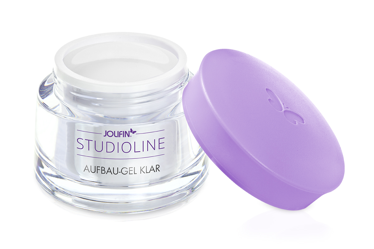 Jolifin Studioline 4plus Aufbau Gel klar 15ml