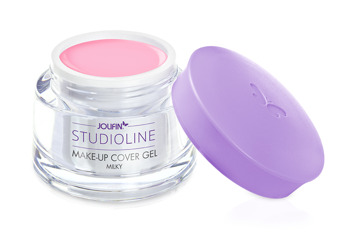 Jolifin Studioline Make-Up Cover Gel milky (French Gel pink) 250ml