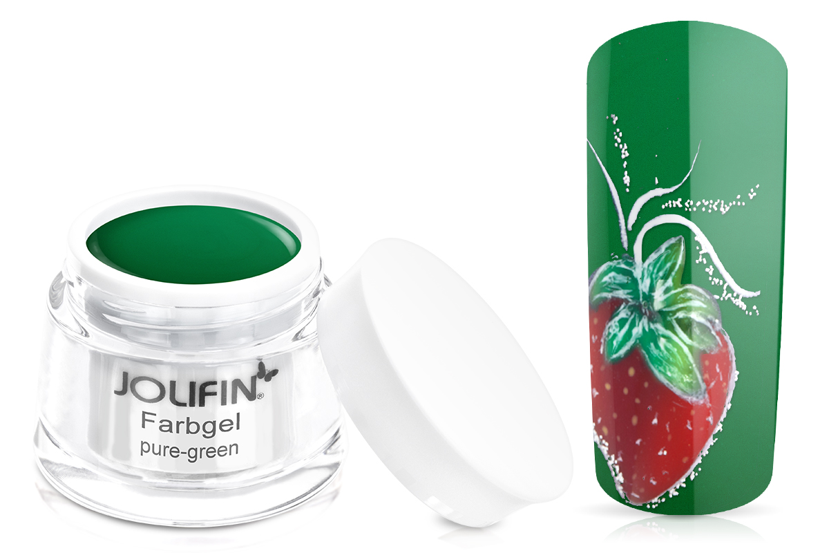 Jolifin Farbgel pure-green 5ml