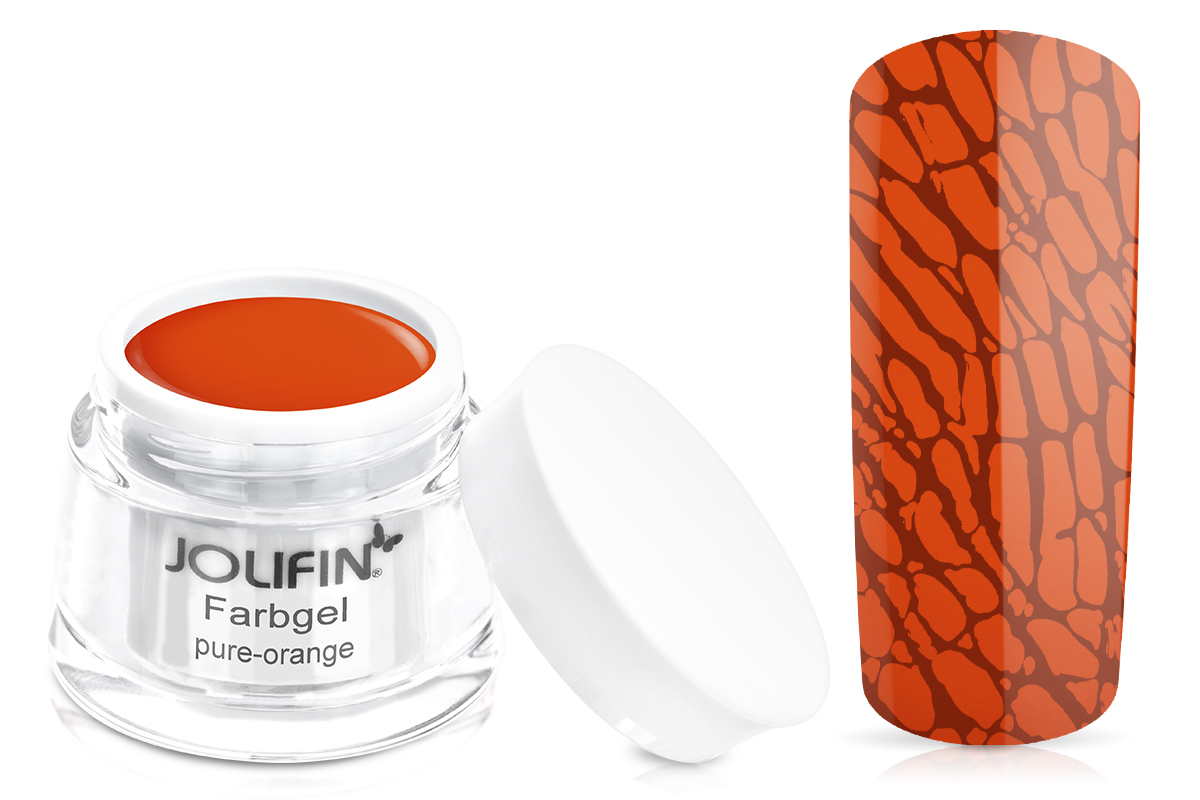Jolifin Farbgel pure-orange 5ml