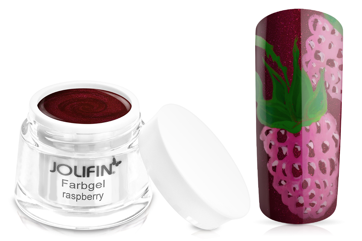 Jolifin Farbgel raspberry 5ml