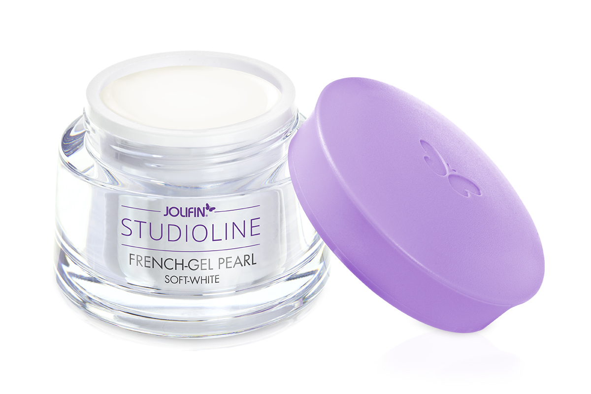 Jolifin Studioline - French-Gel pearl soft-white 15ml