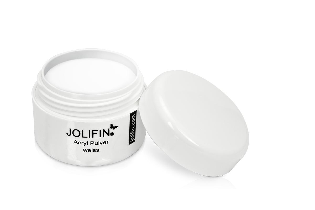Jolifin Acryl Pulver weiß 10g