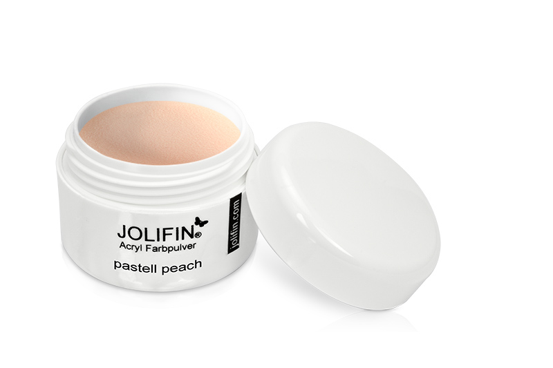Jolifin Acryl Farbpulver - pastell peach 5g