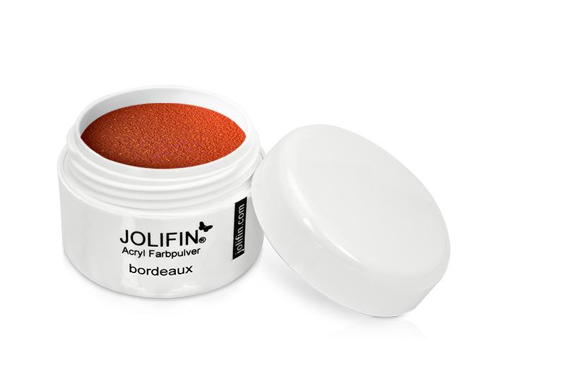 Jolifin Acryl Farbpulver - bordeaux 5g