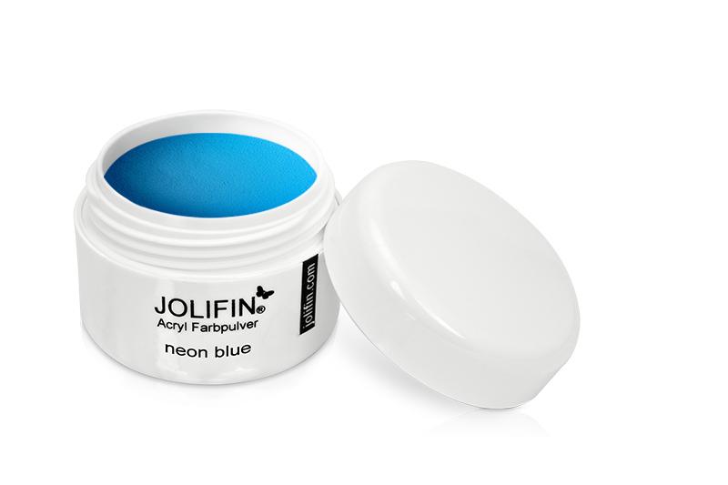 Jolifin Acryl Farbpulver neon blue 5g