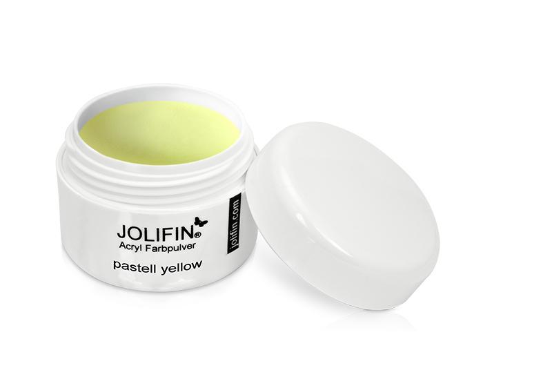 Jolifin Acryl Farbpulver pastell yellow 5g